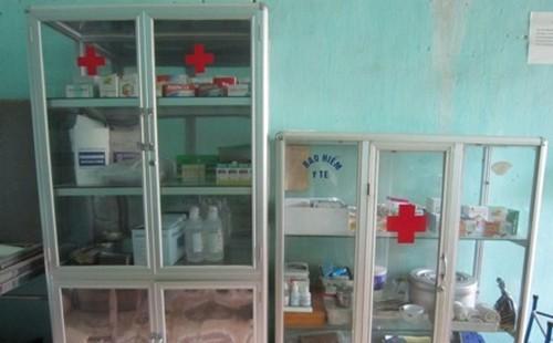 Tủ thuốc y tế trường học